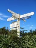 Grand signpost