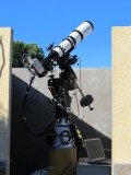 Astro-Physics 130-GT installed in the observatory