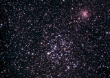Messier-35 and NGC-2158