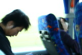 On the bus...