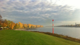 Autumn at the river rhine, Herbst am Rhein