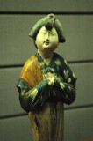 Royal Lady, Tri-colors Pottery, Tang Dynasty, Shaanxi State History Museum