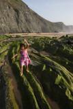 Laura at Barriga beach