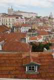 Alfama from Cerca Moura