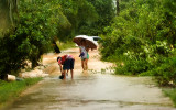 Flooding Koh Samui March 2011