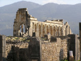 Volubilis built bye th Romans in 300 AD