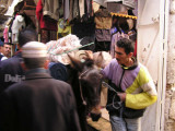 Frenzy in the Fes Souq (Market)
