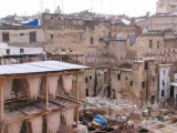 700 year old Tannery in Fes