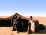 Visiting a Nomad Berber Family