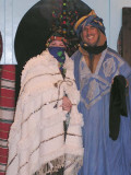 Dressed as a Tuareg Bride with my New Husband