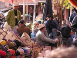 Men at the Souq of a Marrakech Medina
