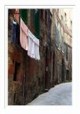 Siena Alley Scene