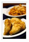 Fried Fish & Pasta