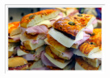 A Pile of Sandwiches