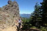 Goat Peak (Rocks) ~ Mile 7