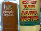Ground Cinnamon & Agave Nectar