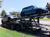 May 30, 2012 - Arrived at dealer on truck from Brunswick