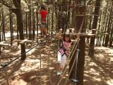Diviertiéndonos en el Forestal Park / Having fun in the Forestal Park