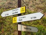 Señal en la montaña / Sign in the mount