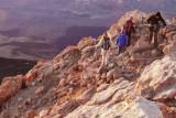 En el pico / In the peak