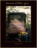 Tombe de  William Horace Wright et Germaine Jan