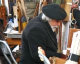 Montmartre-Painter in Profile