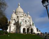 La Basilique du Sacre Coeur de Montmartre