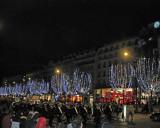 Champs d'Elysee Night Parade