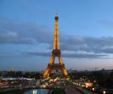 Tour d'Eiffel at Dusk (obligatory image for all tourists)