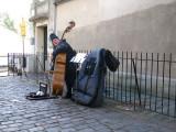 Montmartre - Double Bass Player_3