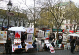 Montmartre-Painters Market