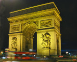 Arc de Triomphe at Night (another must-have image)