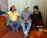 Roy, Bill, & Kathie at Our Saturday Party