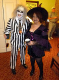 Beetlejuice & Witch Arrive at Our Party
