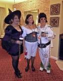 Toni, Debbie, & Joe at Our Halloween Party