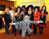 Beetlejuice and the Ladies at Our Party