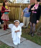 Little Angel at the Housewarming Party