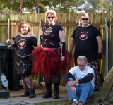 Zombie Response Team Arrives at Housewarming Party