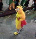Chicken on Bourbon Street on Halloween