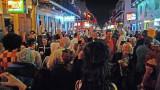 Halloween Night on Bourbon Street