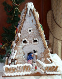 Gingerbread House Up Close