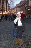 Christmas Market in Dusseldorf, Germany
