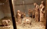 Nativity Scene at Dusseldorf Christmas Market