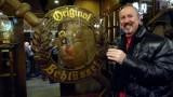 Drinking Alt Bier at Zum Schlussel in Dusseldorf