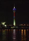 Rhine Tower in Dusseldorf