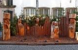 Carved Nativity Scene in Old Market Square, Cologne