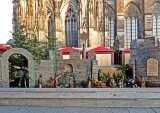 Metal Nativity Scene in Cologne