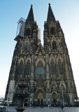 Front of Cologne Cathedral (1248-1880 to Complete)