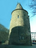 Medieval Fortifications in Aachen, Germany