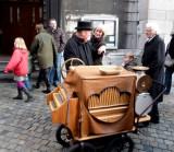 Organ Grinder in Aachen, Germany